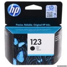 F6V17AE Картридж HP №123 черный